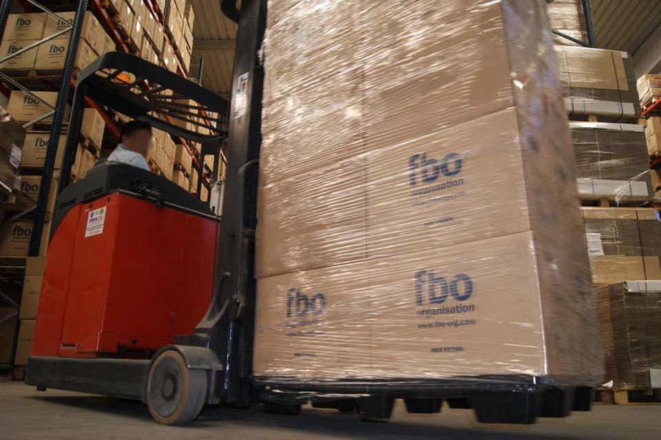 FBO ORGANISATION, almacenaje de cartuchos vacíos.