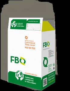 Ecobox FBO ORGANISATION para reciclar cartuchos usados