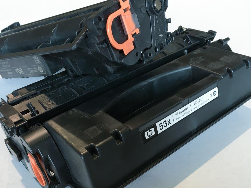 Cartuchos nuevos de HP sin caja